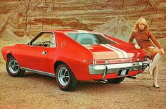 1968 American Motors AMX  by