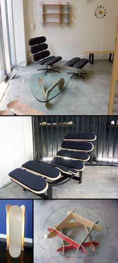 Hervorragend Skateboard Furniture