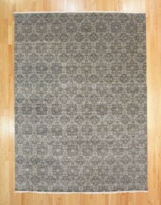 9'X12'2 Contemporary Hand Knotted Rug