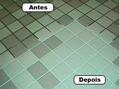 Green Tile Grout Cleaner Green Spring Cleaning Recipe for the Grout :) 7 cups water, cup baking soda, cup lemon juice and cup vinegar - throw in a spray bottle and spray your floor, let it sit for a minute or two. then scrub : Household Cleaners, Diy Cleaners, Cleaners Homemade, Household Tips, Household Products, Cleaning Recipes, Cleaning Hacks, Cleaning Supplies, Floor Cleaning