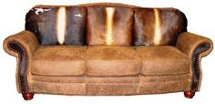 Cowhide Western Furniture Milano Sofa