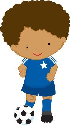 Imágenes para manualidades: Imágenes de niños deportistas para manualidades