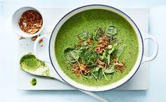 Healthy comfort food!  Thai Broccoli Coconut Soup | vegan & gluten free