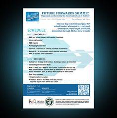 Future Forwards Summit Flyer by Razvan GFX