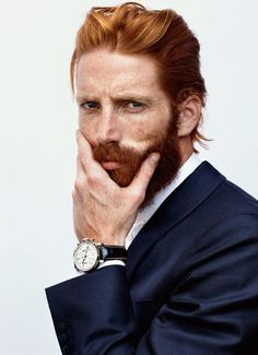 21 of the Hottest Redhead Men You Have Ever Seen Johnny Harrington – 21 of the Hottest Redhead Men You Have Ever Seen – coiffures et barbe hommes Ginger Men, Ginger Beard, Ginger Hair, Red Beard, Beard Love, Hot Redhead Men, Red Hair Men, Hottest Redheads, Mid Length Hair
