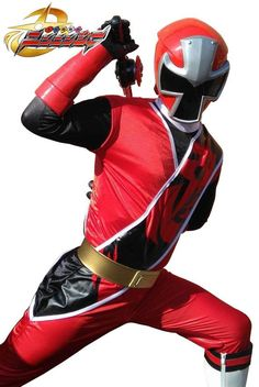 Ninja Steel Red Ranger. Close look at the newest Red Ranger.  #SonGokuKakarot