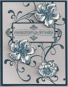 Cards - Eleanor on Pinterest | Stampin Up, Stampin Up Cards and ...