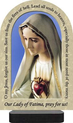 our lady of fatima prayer