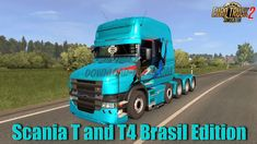 Scania T and T4 Brasil Edition v1.2 by Rafael Alves (1.38.x)