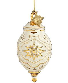 Lenox Christmas Ornament, 2012 Annual Spire - Holiday Lane - Macy's