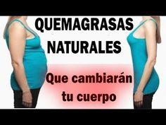LOS QUEMAGRASAS NATURALES MAS EFECTIVOS PARA ADELGAZAR MUY RAPIDO - YouTube