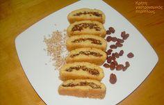 Σταφιδωτά: νηστίσιμα και υγιεινά κερασματάκια! - cretangastronomy.gr Macarons, Pancakes, Cookies, Breakfast, Food, Crack Crackers, Morning Coffee, Biscuits, Essen