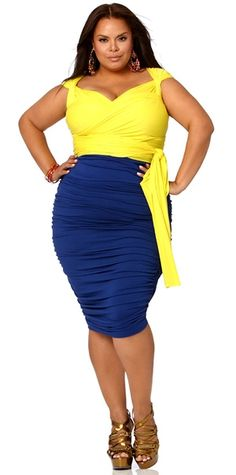 The Monif C. Plus Sizes Spring 2012 Collection