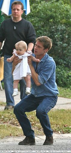 brad pitt | on the set of the curious case of benjamin button