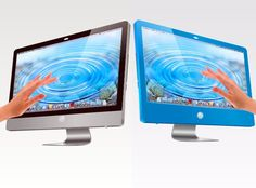 imac touch screen