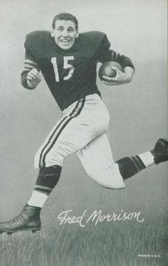 1948-52 Exhibit W468 Black and White #34 Fred Morrison Front