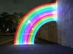 Rainbow Pixelstick, a cool new device for creating long-exposure light paintings. It takes any digital image and displays it on an array of LEDs that you can then photography with your camera.