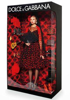 """The Dolce&Gabbana Fashionista Barbie Doll"" by Vogue,Paris. Magdalena Frackowiak and Elisabeth Erm for Vogue Paris. Magdalena Frackowiak, Dolce & Gabbana, Vogue Paris, Living Dolls, Living Barbie, Top Models, Gucci, Fendi, Vintage Barbie"