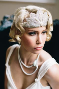 Great Gatsby Bridal Look Inspiration