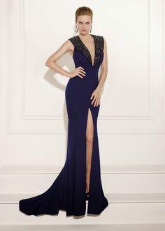Dark Navy Prom Dresses 2015 V Neck Sequined Beading Split Front Zipper Court Train Mermaid Evening Gowns Navy Prom Dresses, Pageant Dresses, Formal Dresses, Reception Dresses, Dresses 2016, Mermaid Evening Gown, Evening Gowns, Buy Dress, Occasion Dresses