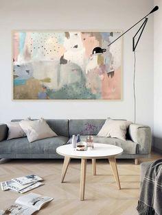 c7fff0022 Quadros Grandes para Sala  56 Modelos para Inspirar a Decoração de Sua Casa