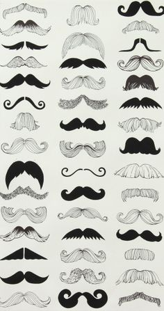 Stache Styles... in Movember spirit