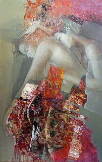 Artiste peintre Pascal Dugourd: Les femmes horloges œuvres de Pascal DugourdPeintu...