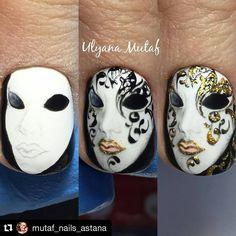 """95 Likes, 5 Comments - Альбом красоты в картинках. (@album_beauty) on Instagram: """"МК от @mutaf_nails_astana ⬇⬇⬇⬇⬇ ______________  Все МК страницы @album_beauty можно найти под…"""""""