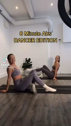 Full Body Gym Workout, Gym Workout Tips, Fitness Workout For Women, Dancer Workout Plan, Dancer Body Workouts, Dance Workout Videos, Gymnastics Workout, Flexibility Workout, Knee Pain