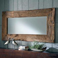 e-combuy Angebote Design Wandspiegel Spiegel Design, Designer Spiegel, Driftwood Mirror, Rustic Mirrors, Vintage Mirrors, Rustic Furniture, Driftwood Furniture, Antique Furniture, Farmhouse Decor