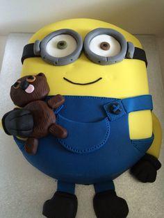 Bob and Timmy Minion cake