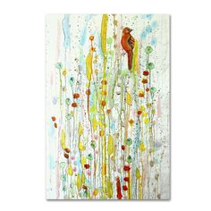 Trademark Fine Art Sylvie Demers 'Pause' Canvas Art