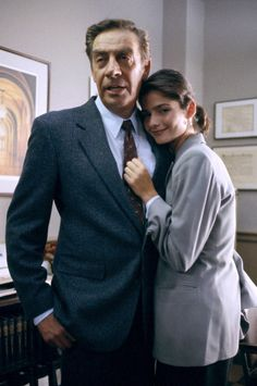 Jill Hennessey & Jerry Orbach on Law and Order