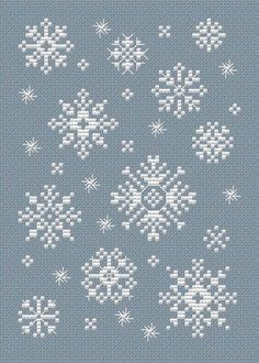 Free Snowflake pattern by Sue Hillis
