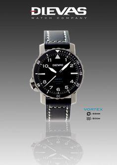 Dievas Vortex Diver Watch Watch Releases