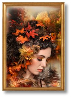 """*Autumn Beauty*"" by signaturenails-dstanley ❤ liked on Polyvore featuring art"