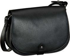Joop Felipa Pure Flap Bag Small Black - Abendtasche   Clutch