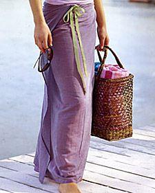 simple sarong