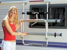 Fiamma Carry-Bike Caravan Hobby Bike Rack for Hobby Caravans
