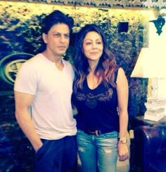 17 Feb 2014 Twitter / iamsrk: Chaotically beautiful. Exquisite. The Design Cell exudes Gauri's personality. Extremely proud of her. Awesome team too