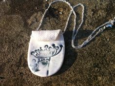 Gone to Seed Porcelain & Sterling Silver Necklace by FebbieDay, £24.00