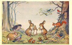 Molly Brett postcard via eBay