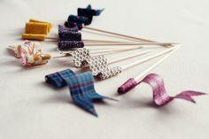 una Imagen, un Escaparate: DIY banderitas decorativas.