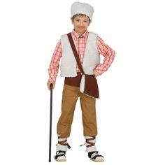 Kinder-Kostüm Schäfer bzw. Hirte ... ideal für's Krippenspiel