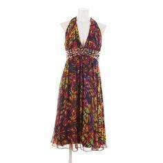 Feminines Seidenkleid von Goldregen in Rosa Gr. 44 - stylisch und edel
