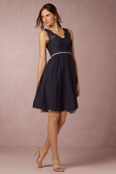 DRESS // From BHLDN. This is lovely and elegant. It looks comfortable too!