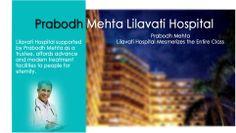 Prabodh Mehta Lilavati Hospital Mesmerizes the Entire Class