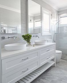 { Sally Rhys-Jones } on Master ensuite at - we wanted it to be relaxing, luxurious amp; classic without being too uptight - Id say it was a success! Modern Master Bathroom, Classic Bathroom, White Bathroom, Small Bathroom, Ensuite Bathrooms, Bathroom Renos, Bathroom Renovations, Bathroom Ideas, Ensuite Room