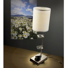 The Slide Projection Table Lamp - Hammacher Schlemmer