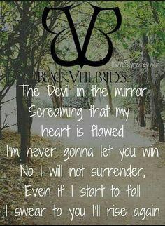 Image result for black veil brides tattoo lyrics